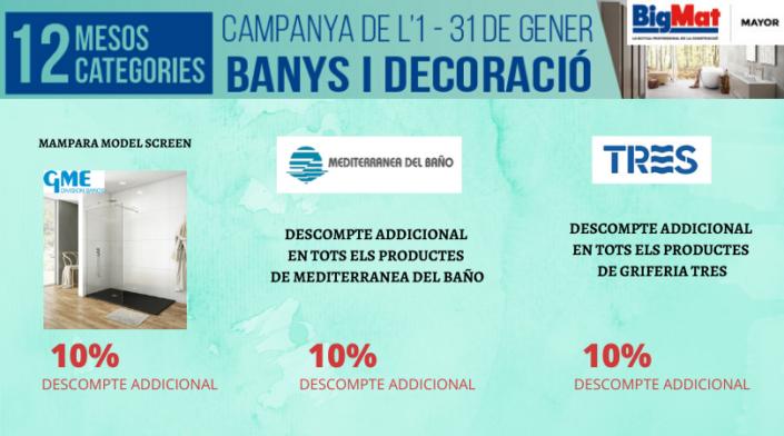 OFERTES BANYS i DECORACIÓ